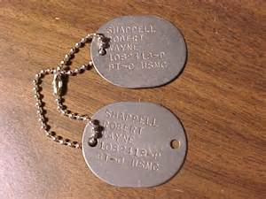 USMC / US Navy Dog Tags