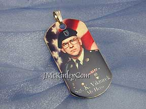 photo dog tag