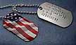picture dog tag and embossed dog tag