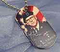 14k gold photo pendant dogtag picture
